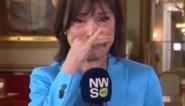 """Emotionele Linda De Win overladen met bloemen tijdens laatste 'Villa Politica': """"Kijkers, ik ga jullie missen"""""""