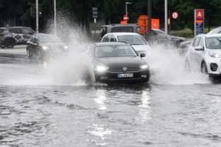 Meer dan 260 oproepen voor ondergelopen straten en kelders in regio Antwerpen<BR />