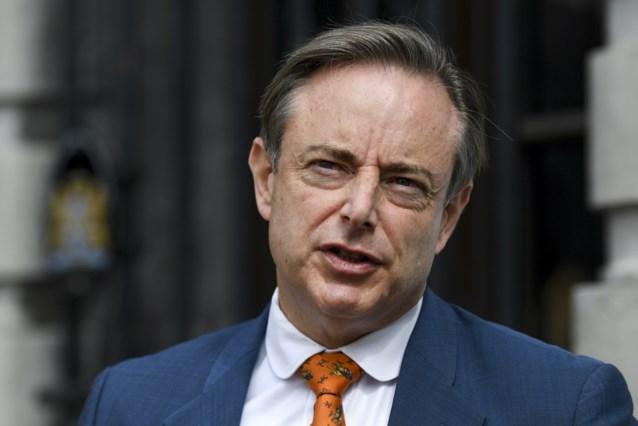 """N-VA wil na 2024 onderhandelen over staatshervorming met PS, zegt De Wever: """"Tot ordentelijk scheidingsakkoord komen"""""""