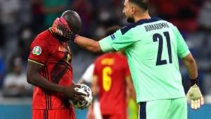 """Italiaanse nummer één Gianluigi Donnarumma onthult wat hij tegen Romelu Lukaku zei voor penalty op EK: """"Maar hij negeerde mij"""""""