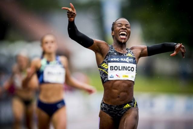 Belgian Cheetah Cynthia Bolingo loopt met wit streepje op de kin, en daar heeft ze een mooie reden voor