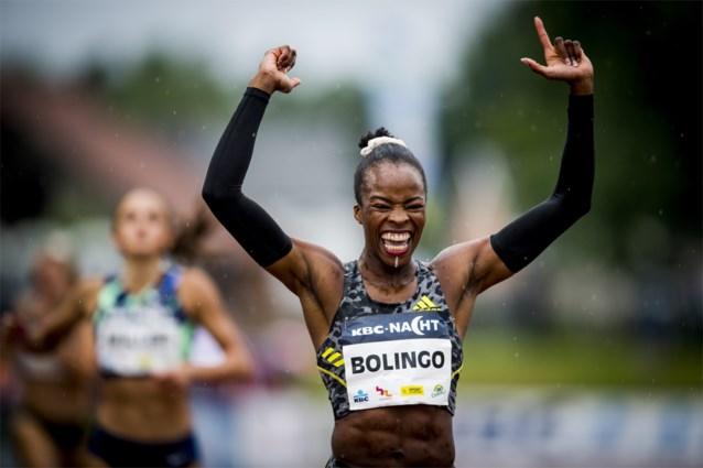 Nóg sneller: Cynthia Bolingo raast naar snelste Europese tijd van het jaar (en nieuw Belgisch record) op 400 meter