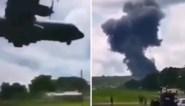 Moment waarop Filipijns vliegtuig crasht gefilmd: 52 doden, zwarte doos gevonden