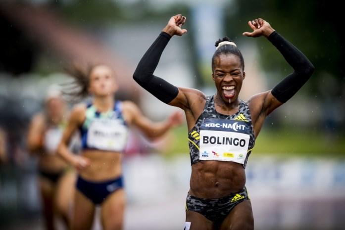 Team Belgium heeft er medaillekansje bij: opmars Cynthia Bolingo en andere estafetteleden opent perspectieven