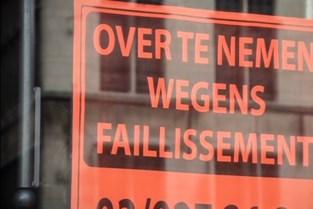 Zeven ondernemingen lopen tegen faillissement aan