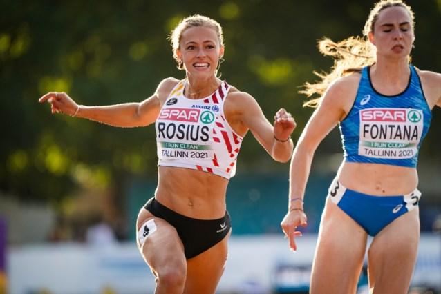 Rani Rosius met snelste tijd naar finale 100 meter op EK U23