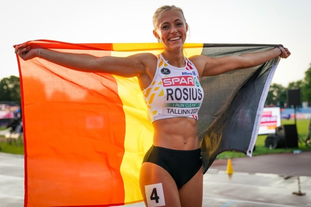 Rani Rosius snelt naar zilver op EK atletiek U23