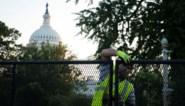 Hekwerk aan Capitool in Washington wordt afgebroken