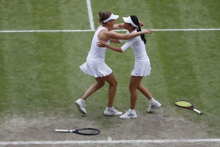 Wat een comeback! Elise Mertens en partner winnen dubbelspel Wimbledon na spektakelstuk