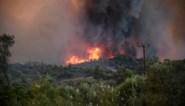 Griekse natuurbranden onder controle, maar gevaar is niet geweken