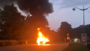 Auto gaat in vlammen op in Herentals