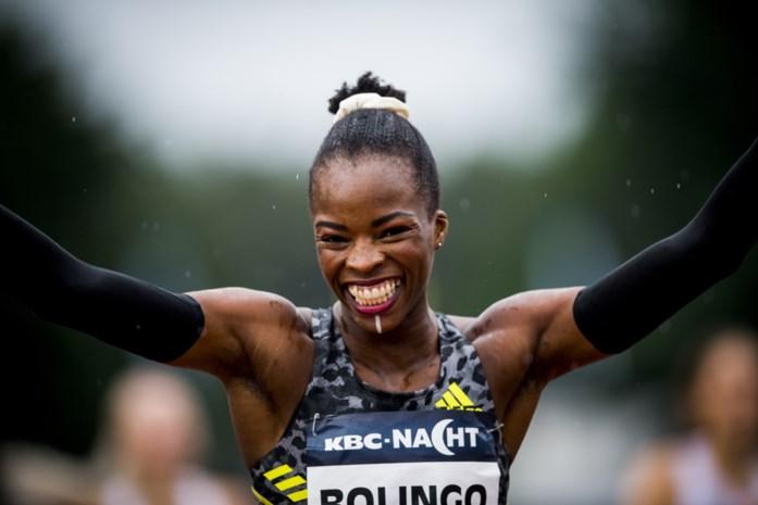 Waarom Cynthia Bolingo, de snelste Belgische vrouw, met een wit lijntje op haar kin loopt