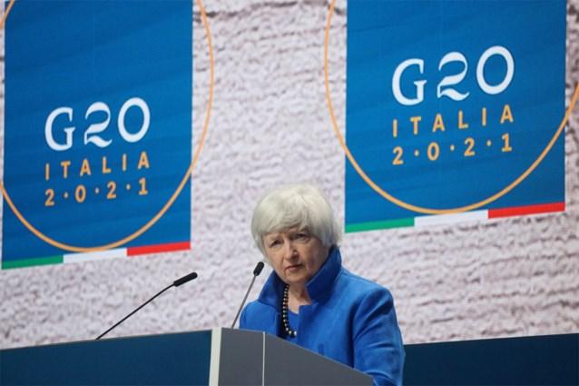 Janet Yellen vraagt Europa digitaks voor meer eerlijke belastingen voor Apple en Google te heroverwegen