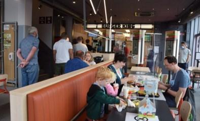 Aanschuiven op openingsdag Burger King
