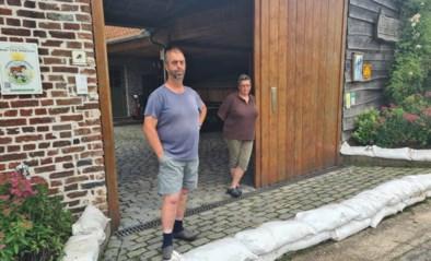 """Bewoners Pottekaasstraat zien wateroverlast toenemen """"Het stopte met regenen, maar iets later werd de straat een rivier"""""""
