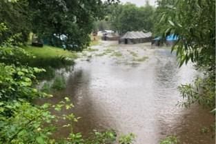 Na amper een nacht moet Chiro Tijl bivak alweer opbreken omdat water kniehoog in tenten staat