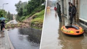 Hevige regen zorgt voor zware wateroverlast, maar zwaartepunt moet nog komen