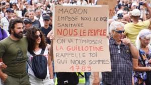 Betogingen in Frankrijk tegen invoering coronapas