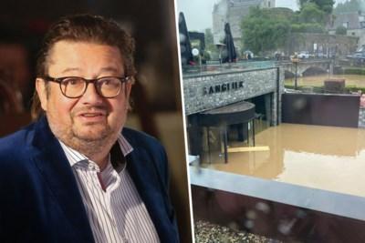 """Marc Coucke: """"Durbuy is deel van de rivier geworden, het is verschrikkelijk"""""""