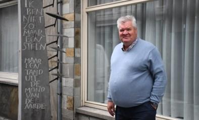 """Kunstwerk over 'Rock Torhout' verdwijnt uit straatbeeld: """"In- en uitrit van appartementsgebouw komt in de plaats"""""""