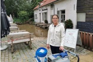 """Opkuis na overstromingen kan beginnen in brasserie Tommenmolen: """"Alles op alles zetten zodat trouwfeest kan doorgaan"""""""