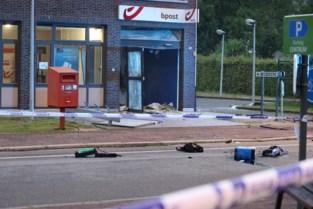 Plofkraak in bpost-kantoor in Zandhoven: grote schade aan inkomhal en bankautomaat