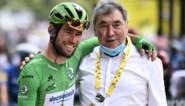 """Eddy Merckx volgt Cavendish live in zijn poging om record van 34 ritzeges te verbeteren: """"Ik hoop dat Mark een 35ste keer wint"""""""