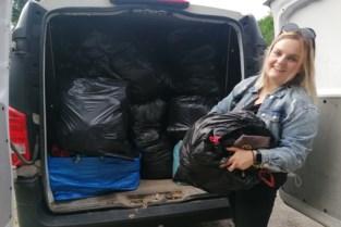 Charlotte start als eerste hulpactie voor watersnood