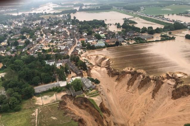 Apocalyptische beelden van aardverschuiving in Duitsland: huizen weggespoeld, vrees voor meerdere doden