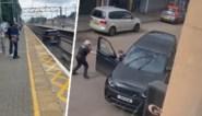 Autodief probeert in Land Rover te ontsnappen … door over treinsporen te rijden