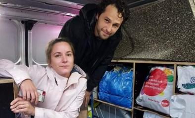 """Alex reed met hulpgoederen naar Verviers: """"Iedereen zat ontredderd op de grond"""""""