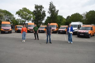 Elf groene voertuigen op gas voor technische diensten
