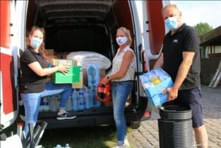 Lootse inzamelactie massaal succes: straks drie bestelwagens naar rampgebied Hotton
