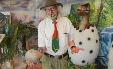 """Opa Dino stelt topstukken tentoon op expo in Wijnegem Shopping Center: """"Mogelijk zit er nog embryo van dinosaurus in dat ei"""""""