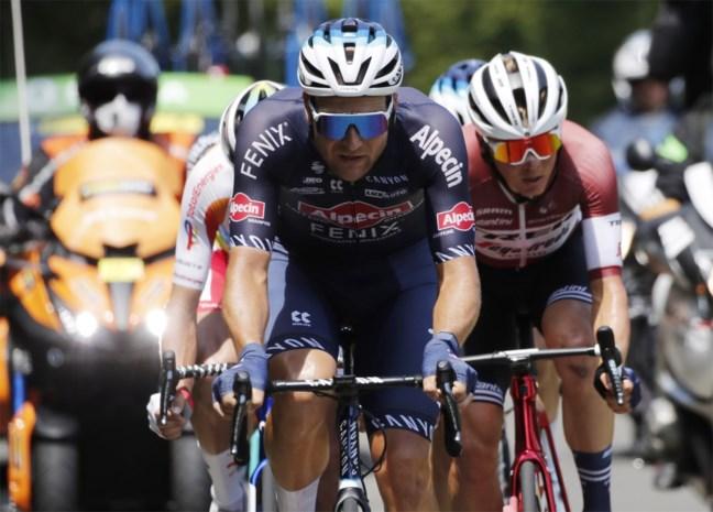 """Jonas Rickaert blikt tevreden terug op Tourdebuut: """"Mijn werk als sprintloods naar behoren gedaan"""""""