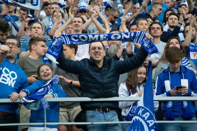 Iedereen welkom op eerste wedstrijd met publiek voor KAA Gent: vrije ticketverkoop gestart