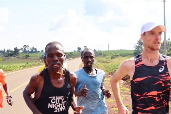 """Koen Naert heeft zijn Afrikaanse hoogtestage achter de rug: """"De Kenianen wilden zich niet laten kloppen door een blanke"""""""