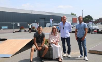 Pop-up skatepark aan Klein Boom klaar voor gebruik