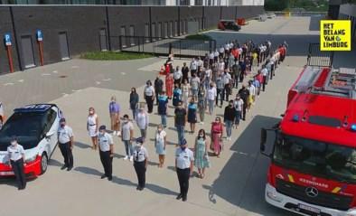 Loeiende sirenes en indrukwekkende stilte: zo herdenkt Limburg slachtoffers van noodweer
