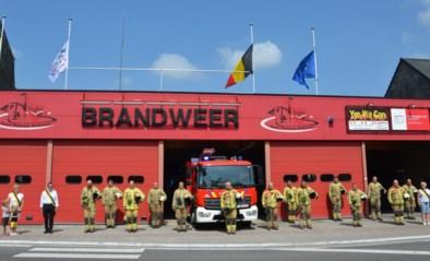 Brandweerpost brengt hulde aan slachtoffers watersnood