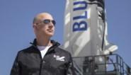 Geslaagde eerste ruimtereis voor miljardair Jeff Bezos