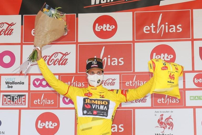 Eerste rit van Tour de Wallonie is prooi voor Dylan Groenewegen, die voor het eerst wint sinds schorsing na valpartij in Polen
