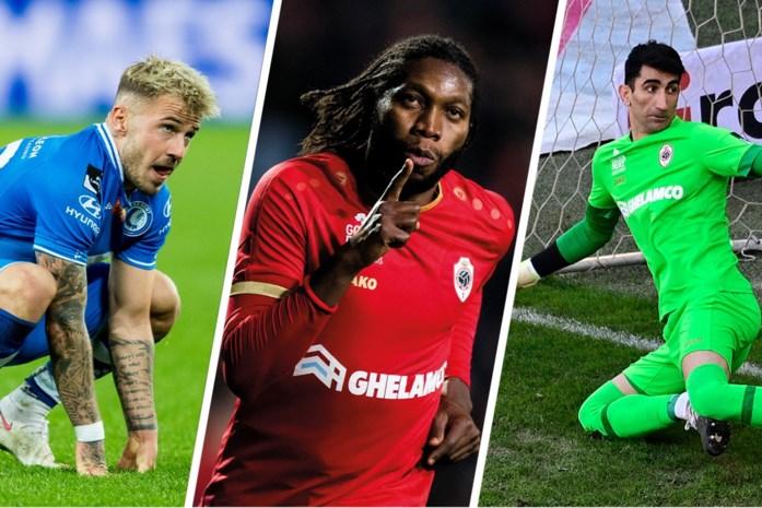 De start van de Jupiler Pro League is in zicht: vijf spelers die we komend seizoen moeten missen, van Dieumerci Mbokani tot middenvelder van AA Gent
