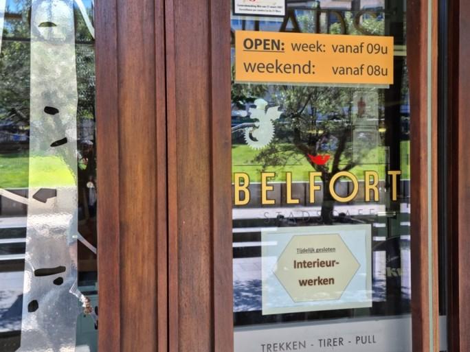 Toekomst van café onder de stadshal is onzeker: zaak al hele tijd niet meer open