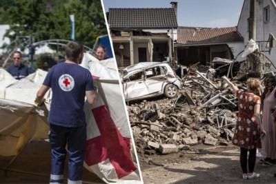 """""""Nog járen werk"""": Rode Kruis blijft oproepen tot extra hulp na ongeziene catastrofe"""