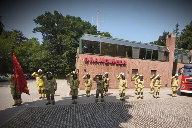 Brandweerkorps herdenkt slachtoffers watersnood