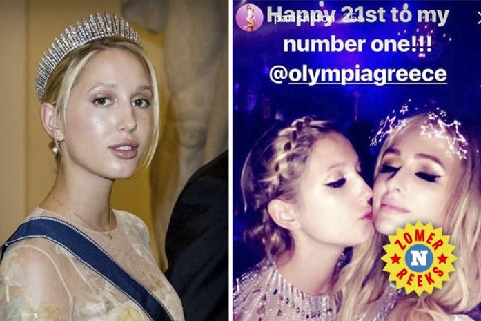 Haar ene grootvader is de laatste koning van Griekenland, de andere een schatrijke zakenman: de perfecte mix voor de Paris Hilton van de Europese royalty