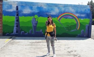 Kleuterjuf wil doorbreken als graffitikunstenaar Bellie Ve