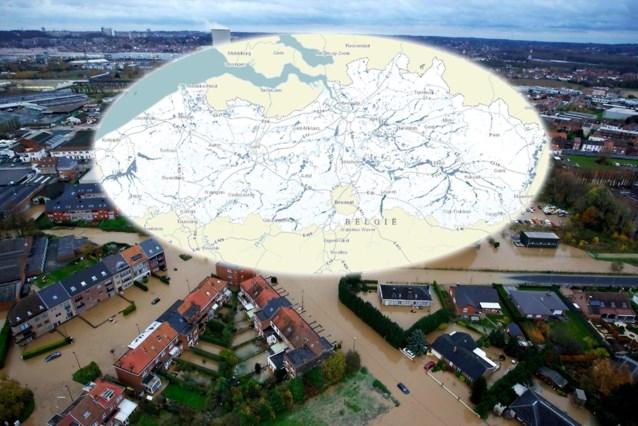 Bestaat de kans dat jouw huis overstroomt? Hier kan je het checken