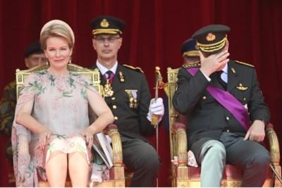 Vrouwen stelen de show op nationale feestdag: Delphine spreekt zonder woorden, Elisabeth als soldate en... waar was Claire?